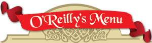 O'reilly's Menu